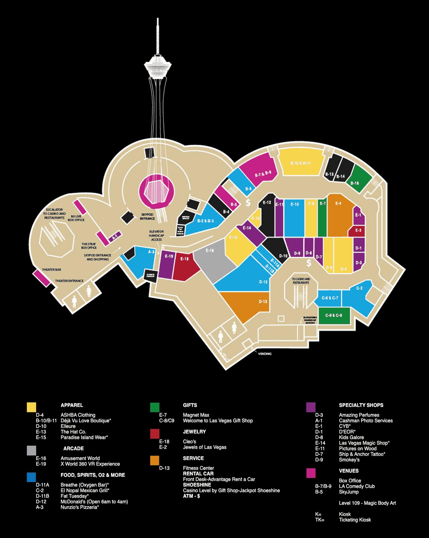Strat Level Map